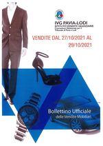 BOLLETTINO VENDITE DAL 27/10/2021 AL 29/10/2021