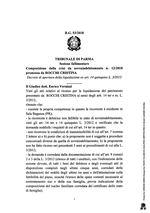 Composizione della crisi da sovraindebitamento n. 12/2018 - Decreto di apertura
