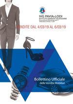 BOLLETTINO VENDITE DAL 4/03/2019 AL 6/03/2019