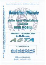BOLLETTINO MOBILIARE ASTA 07/06/2019