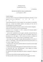 Decreto Apertura Liquidazione RG 35-20