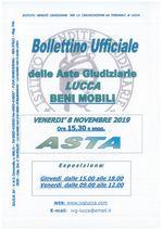 BOLLETTINO MOBILIARE ASTA 08/11/2019