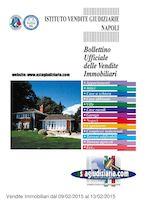 Bollettino Immobiliare 09/02/2015 - 13/02/2015