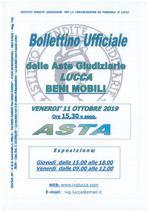 BOLLETTINO MOBILIARE ASTA 11/10/2019