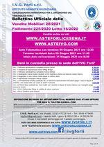 Bollettino Fallimento 225/20 - Materiale studio Dentistico