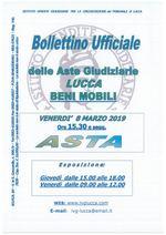 BOLLETTINO MOBILIARE ASTA 08/03/2019