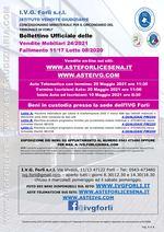 Bollettino Fallimento 11/17 - macchine avvitatori progressivo- macchina interruttore per cabina