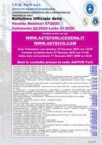 Bollettino Fallimento 32/20 - Autocarro - Fotocopiatrici - Attrezzature