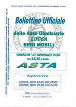 BOLLETTINO MOBILIARE ASTA 17/01/2020