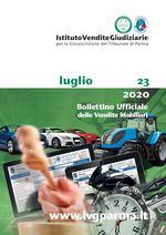 Bollettino Ufficiale delle Vendite Mobiliari n. 23