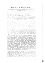 Procedura di liquidazione del patrimonio del debitore RG n. 2/2018 Fall. decreto del 16/05/2019