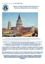 BOLLETTINO N. 35 DAL 21 AL 26 DICEMBRE 2020