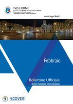 BOLLETTINO DELLE ASTE GIUDIZIARIE IMMOBILIARI FEBBRAIO 2020