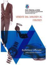BOLLETTINO VENDITE DAL 3/05/2021 AL 7/05/2021