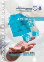 Bollettino ufficiale delle vendite immobiliari APRILE 2019