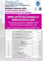 Bollettino Fallimento 53/19 - Autocarri ed attrezzature