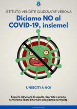 Diciamo NO al COVID-19 insieme! -VERONA- MODALITA' DI PARTECIPAZIONE GARA DEL 3 E 4 GIUGNO 2020 - LUOGO E SEDE - COVID-19