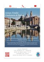 Bollettino n. 06 Padova dal 24 Febbraio al 31 Marzo 2020