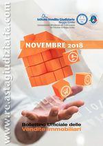 Bollettino ufficiale delle vendite immobiliari NOVEMBRE 2018