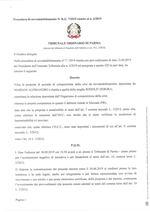 Composizione della crisi da sovraindebitamento n. 7/2019 riunito al n. 6/2019 - Decreto apertura