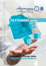 Bollettino ufficiale delle vendite immobiliari SETTEMBRE 2019