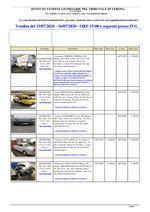 VERONA ELENCO AUTO GARA DEL 15 E 16 LUGLIO 2020
