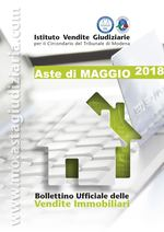 Bollettino Ufficiale delle Aste Giudiziarie Sezione Immobiliare Maggio 2018