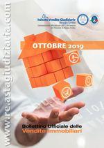 Bollettino ufficiale delle vendite immobiliari OTTOBRE 2019