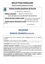 DOCUMENTI CHE SERVONO PER PARTECIPARE ALLE VENDITE DI VERONA