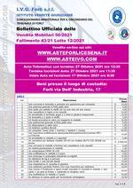 Bollettino Fallimento 43/21 Autocarri-Uffici-Edilizia-Cartongesso