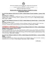 programma informativo delle vendite in luogo del 22/01/2019