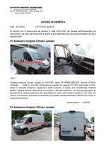 AVVISO DI VENDITA 02 Autocarri Citroen Jumper - RGE 977/19 Trib. Pordenone Lotto 90/19