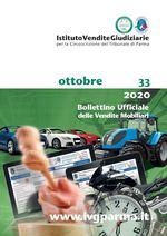 Bollettino Ufficiale delle Vendite Mobiliari n. 33