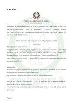 Decreto di apertura della procedura di liquidazione del patrimonio N. 5/21