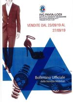 BOLLETTTINO VENDITE DAL 23/09/19 AL 27/09/19