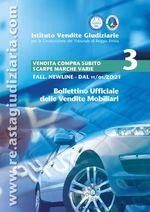 Edizione speciale bollettino mobiliare Vendita COMPRA SUBITO SCARPE MARCA PUMA E VARIE dal 11/01/2021