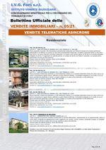 Bollettino Ufficiale delle Vendite Immobiliari 05/21