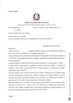 Composizione della crisi da sovraindebitamento n.6/2019 e 7/2019 - Decreto apertura liquidazione