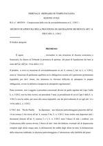 Pubblicazione Decreto Omologa 489/2019