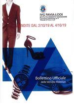 BOLLETTINO VENDITE DAL 2/10/19 AL 4/10/19