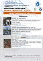 Bollettino Ufficiale delle Vendite Immobiliari 04/21
