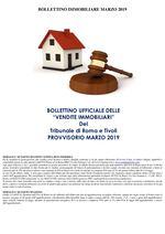 BOLLETTINO ASTE IMMOBILIARI MARZO 2019