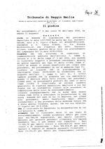Decreto procedura di liquidazione del patrimonio RG 8-2020