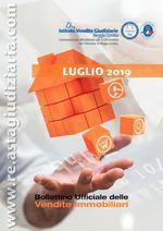 Bollettino ufficiale delle vendite immobiliari LUGLIO 2019