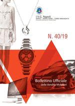 Bollettino ufficiale Napoli  dal 07/10/19 al 13/10/19