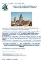 BOLLETTINO N. 9 DAL 2 AL 7 MARZO 2020