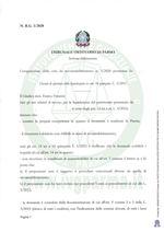 Composizione della crisi da sovraindebitamento n.3/2020 - Decreto apertura liquidazione