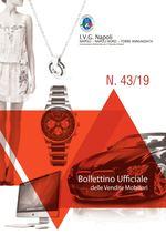 Bollettino ufficiale Napoli  dal 28/10/19 al 03/11/19