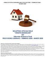 BOLLETTINO ASTE IMMOBILIARI GEN-FEB-MAR 2020