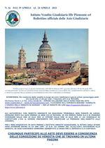 BOLLETTINO N. 16 DAL 19 AL 24 APRILE 2021